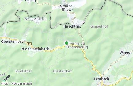Stadtplan Hirschthal