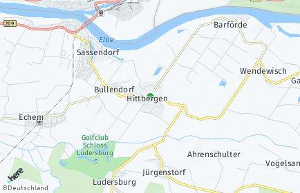 Stadtplan Hittbergen