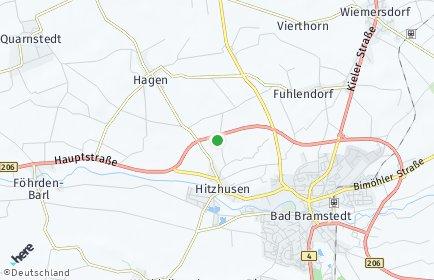 Stadtplan Hitzhusen