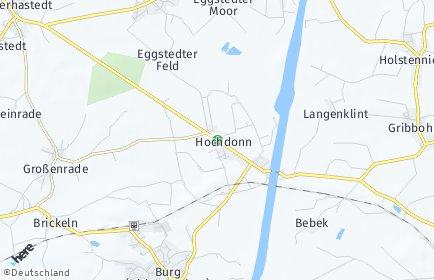 Stadtplan Hochdonn