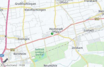 Stadtplan Hochstadt (Pfalz)