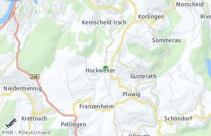 Stadtplan Hockweiler