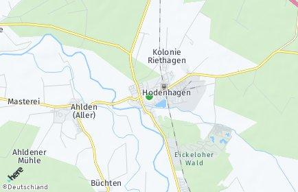 Stadtplan Hodenhagen