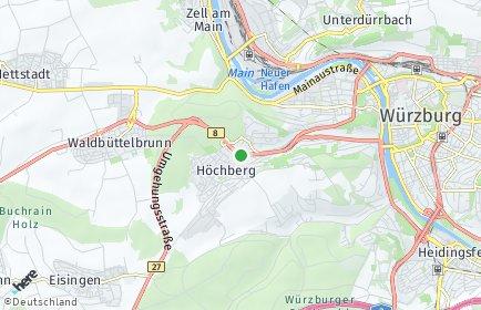 Stadtplan Höchberg
