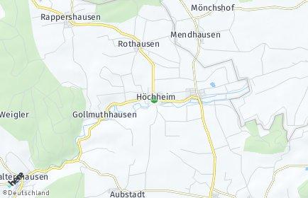Stadtplan Höchheim