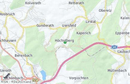 Stadtplan Höchstberg