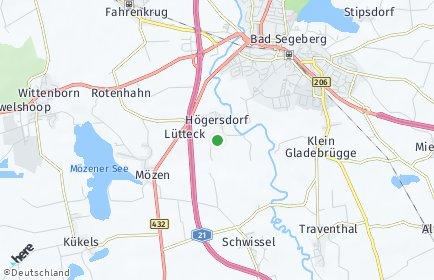 Stadtplan Högersdorf