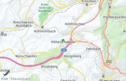 Stadtplan Höheischweiler