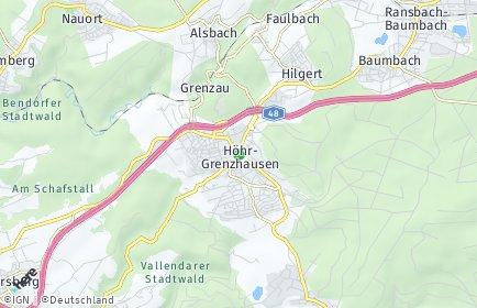 Stadtplan Höhr-Grenzhausen
