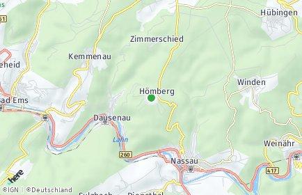 Stadtplan Hömberg