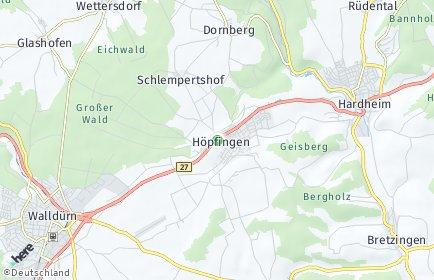 Stadtplan Höpfingen