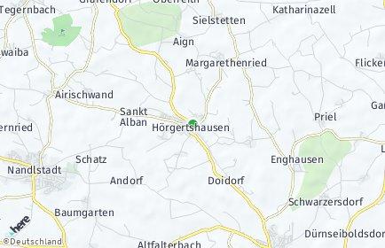 Stadtplan Hörgertshausen