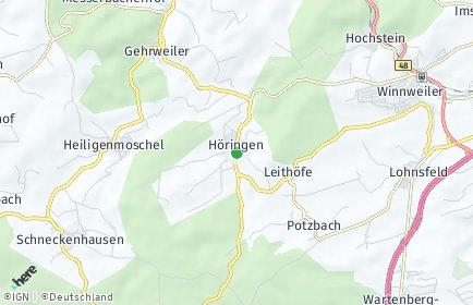 Stadtplan Höringen