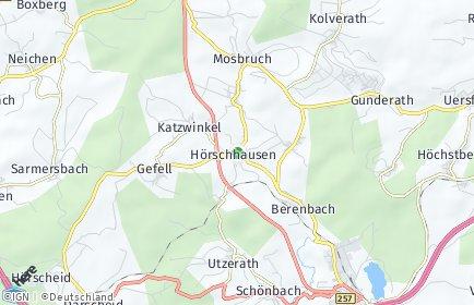Stadtplan Hörschhausen