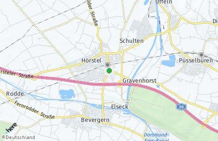 Stadtplan Hörstel