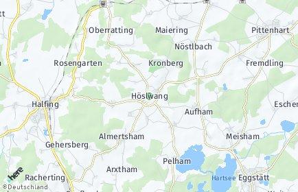 Stadtplan Höslwang