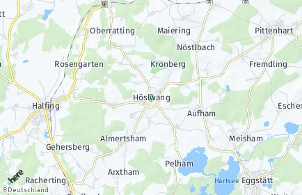 Stadtplan Höslwang OT Gachensolden