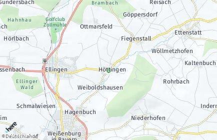 Stadtplan Höttingen