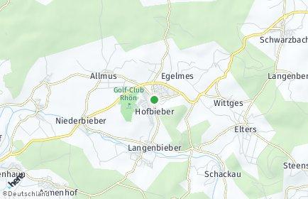 Stadtplan Hofbieber