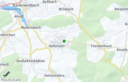 Stadtplan Hohenahr