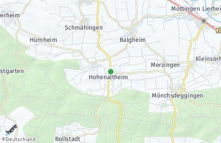 Stadtplan Hohenaltheim
