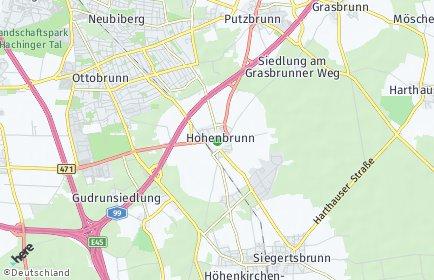 Stadtplan Hohenbrunn