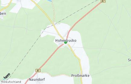 Stadtplan Hohenbucko
