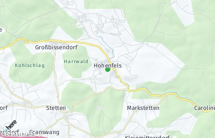 Stadtplan Hohenfels (Oberpfalz)
