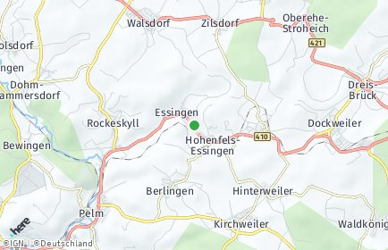 Stadtplan Hohenfels-Essingen