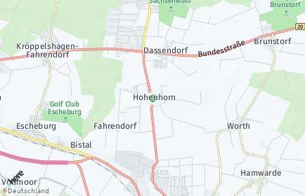 Stadtplan Hohenhorn