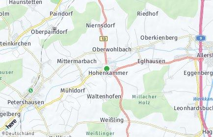 Stadtplan Hohenkammer