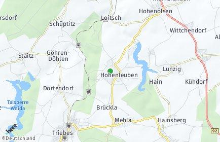 Stadtplan Hohenleuben
