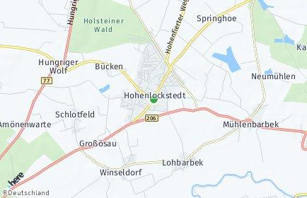 Stadtplan Hohenlockstedt