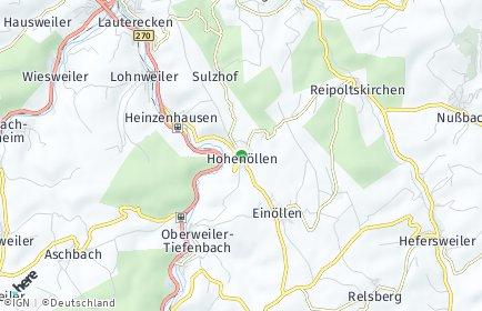 Stadtplan Hohenöllen