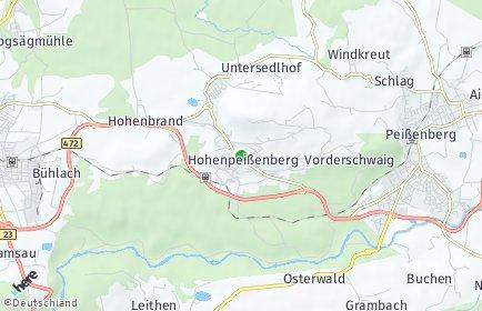 Stadtplan Hohenpeißenberg