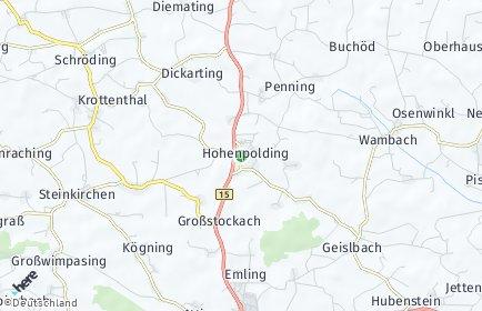 Stadtplan Hohenpolding
