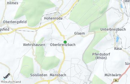 Stadtplan Hohenroda