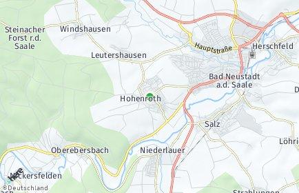 Stadtplan Hohenroth