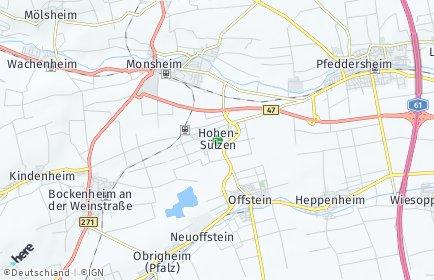 Stadtplan Hohen-Sülzen
