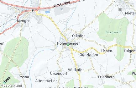 Stadtplan Hohentengen (Oberschwaben)