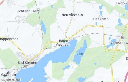 Stadtplan Hohen Viecheln