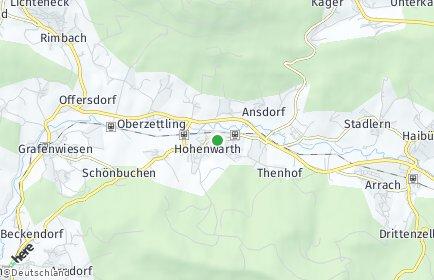 Stadtplan Hohenwarth