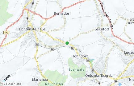 Stadtplan Hohndorf