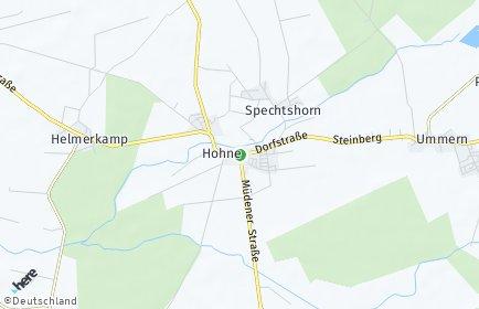 Stadtplan Hohne