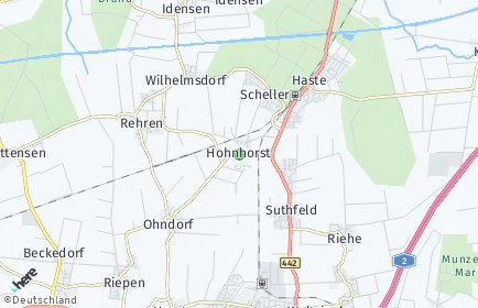 Stadtplan Hohnhorst