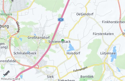 Stadtplan Hoisdorf