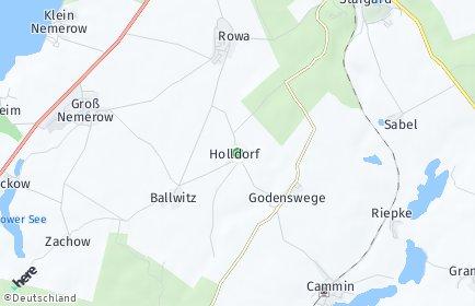 Stadtplan Holldorf