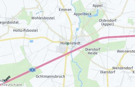 Stadtplan Hollenstedt