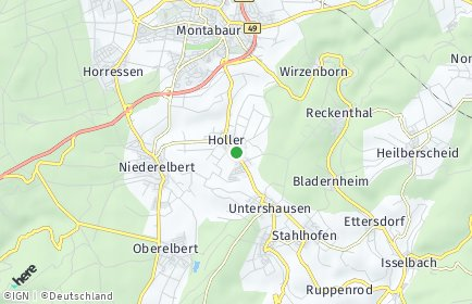 Stadtplan Holler
