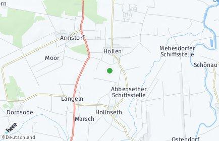 Stadtplan Hollnseth